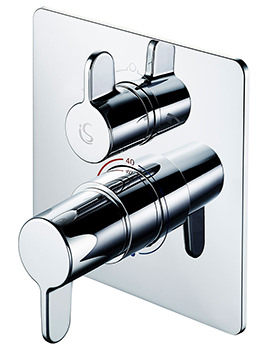 Ideal Standard Freedom Built-In Thermostatic Bath Shower Mixer Valve