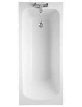 Armitage Shanks Sandringham 21 1600 x 700mm No Taphole Idealform Bath