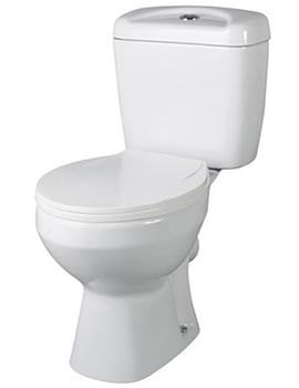 Lauren Melbourne Close Coupled WC Set 630mm