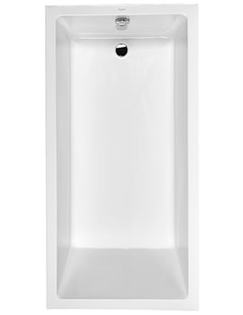 Duravit Starck 1800 x 900mm Rectangular Built-In Bath