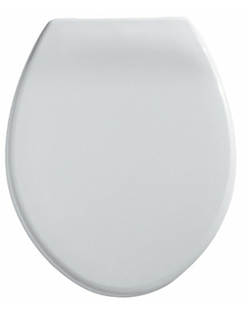 Twyford Option Toilet Seat And Cover With Stainless Steel Hinges