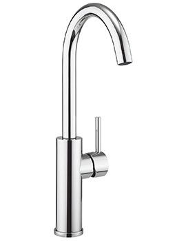 Crosswater Cucina Kai Lever Tall Kitchen Sink Mixer Tap