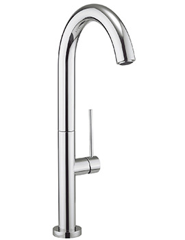 Crosswater Cucina Tube Round Side Lever Kitchen Sink Mixer Tap