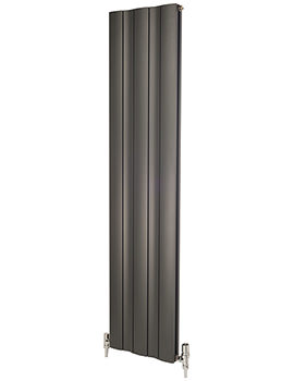 Apollo Malpensa Wave 1800mm Height Vertical Aluminium Radiator