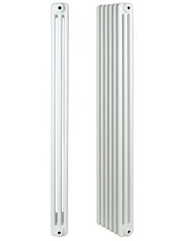 Apollo Roma Steel 3 Column Radiator 39 Section 1800 x 300mm