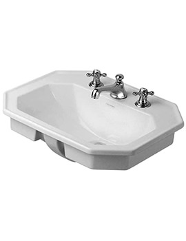 Duravit 1930 Series Countertop Vanity Basin 580mm