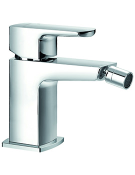 Flova Dekka Single Lever Bidet Mixer Tap With Clicker Waste