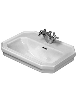 Duravit 1930 Series 1 Tap Hole Handrinse Basin 500mm