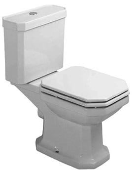 Duravit 1930 Series Close Coupled WC Pan With Cistern And Flexible Hose