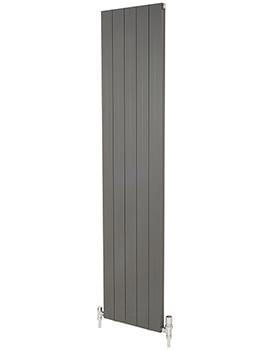 Apollo Malpensa 1800mm Height Flat Vertical Aluminium Radiator