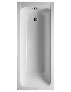 Duravit D-Code 1700 x 700mm Built-In Bath With Support Feet