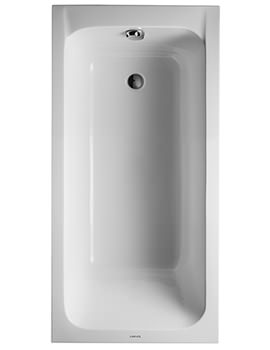 Duravit D-Code 1500 x 750mm Built-In Bathtub Without Feet