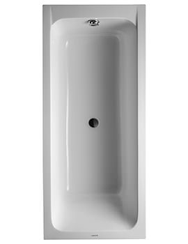 Duravit D-Code 1700 x 750mm Built-In Bathtub Without Feet