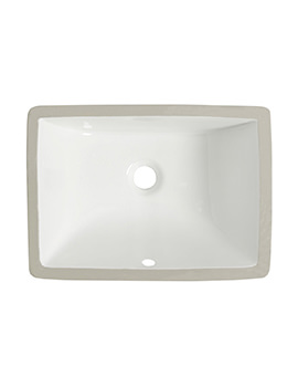 Roper Rhodes Hampton 600mm Underslung Basin White