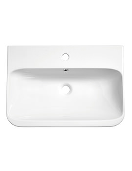 Roper Rhodes System White Ceramic Basin
