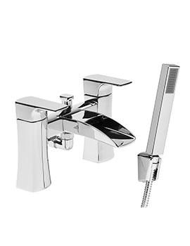 Roper Rhodes Sign Bath Shower Mixer Tap With Handset Chrome