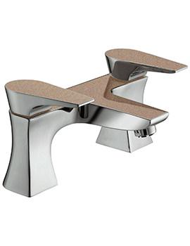 Bristan Metallix Hourglass Bath Filler Tap