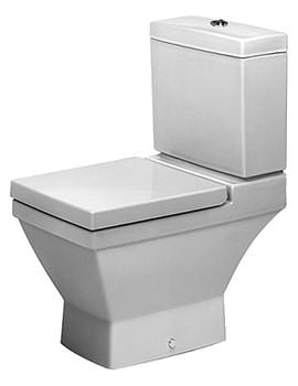 Duravit 2nd Floor Close Coupled WC Pan Only - EX-DISPLAY