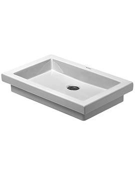 Duravit 2nd Floor 480 x 415mm Ground Wash Bowl - EX DISPLAY