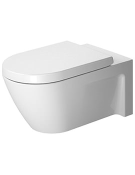 Duravit Starck 2 360 x 620mm Wall Mounted Toilet - EX DISPLAY