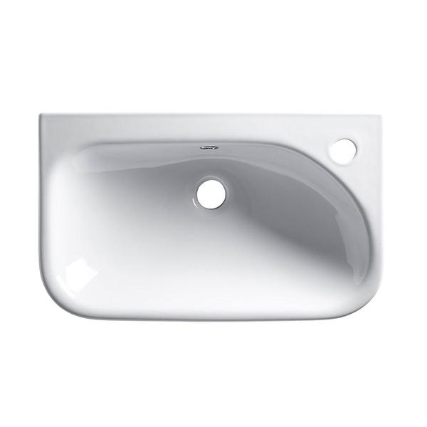 Roper Rhodes Note Slim Depth Semi Counter Top Basin White