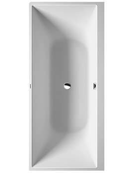 Duravit DuraSquare 1800 x 800mm Corner Right Bath With Seamless Panel