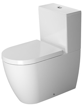 Duravit Me By Starck Close Coupled Toilet - EX DISPLAY