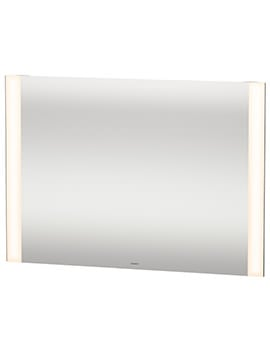 Duravit 1000 x 700mm 20W Dual Light LED Mirror With Sensor Switch