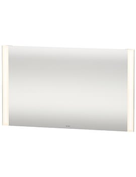 Duravit 1200 x 700mm 20W Dual Light LED Mirror With Sensor Switch