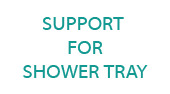 Duravit Support For Shower Tray