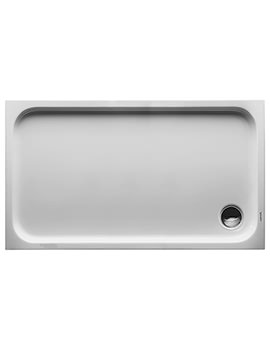 Duravit D-Code 1300 x 750mm Rectangle Shower Tray