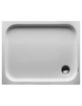 Duravit D-Code 1000 x 800mm Rectangle Shower Tray