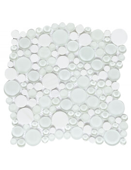 Dune Emphasis Snow 28.3 x 28.6cm Wall Tile