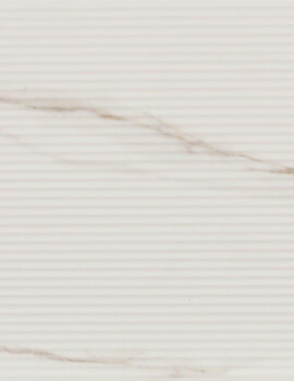 Dune Shapes 3 Stripes Calacatta 25 x 25cm Ceramic Wall Tile