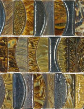 Dune Emphasis Reggae 30.3 x 34cm Mosaic Tile