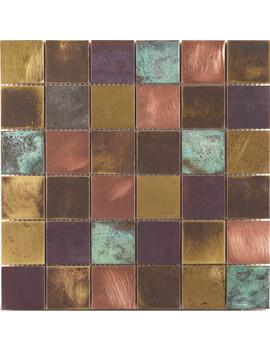 Dune Emphasis Bronzo 29.8 x 29.8cm Mosaic Tile