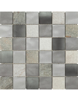 Dune Emphasis Magma Grey 29.8 x 29.8cm Mosaic Tile
