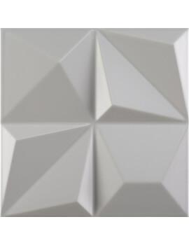 Dune Shape 1 Multishapes Smoke 25 x 25cm Ceramic Wall Tile