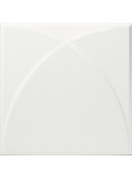 Dune Shapes 2 Bivio Luce 25 x 25cm Ceramic Wall Tile