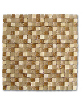 Dune Emphasis Mosaico Onix Glass 29.3 x 29.3cm  Mosaic Tiles