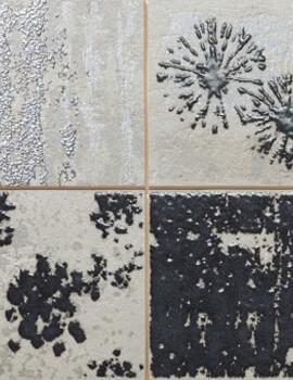 Dune Megalos Collage Smoke 29.5 x 90.1cm Wall Tiles
