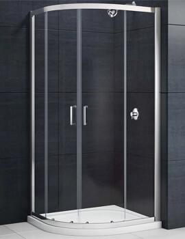 Merlyn Mbox Quadrant Enclosure Double Door - W 800 x D 800mm