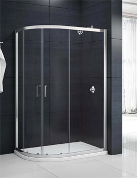 Merlyn Mbox Double Door Offset Quadrant Shower Enclosure 1900mm Height