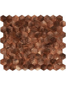 Dune Emphasis Corten 26 x 30.2cm Wall Tiles