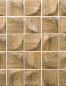 Dune Megalos 3D Bosque Light 25 x 25cm Ceramic Wall Tile