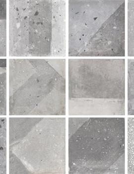 Dune Minimal Chic Emporio 20 x 20cm Agnes Grey Floor And Wall Tile