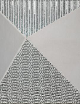 Dune Shapes 1 Kioto Silver 25 x 25cm Ceramic Tile