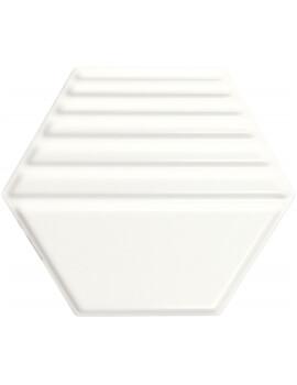 Dune Exa Full White 23 x 27cm Ceramic Wall Tiles