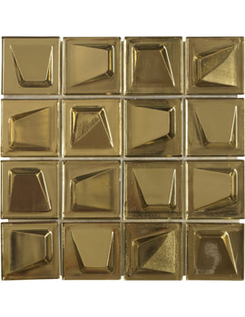 Dune Emphasis Gilded 24 x 24cm Wall Tiles