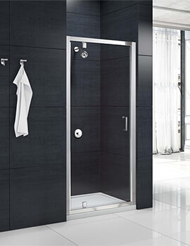 Merlyn Mbox 6mm Glass Pivot Shower Door 700mm Wide